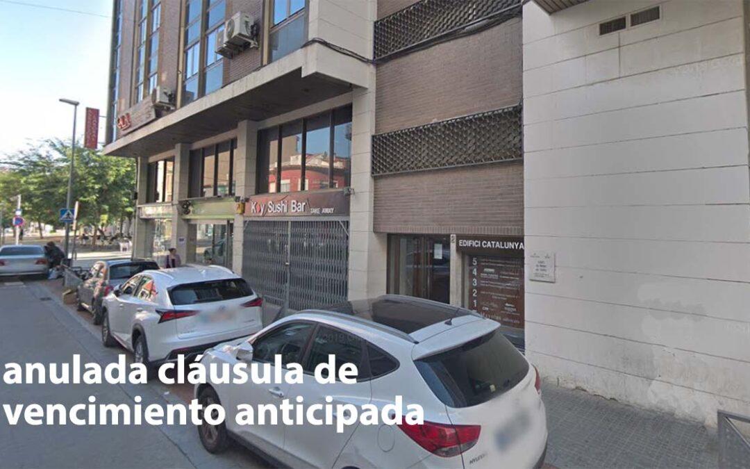 Juzgado de Barcelona archiva ejecución hipotecaria por considerar abusiva cláusula vencimiento