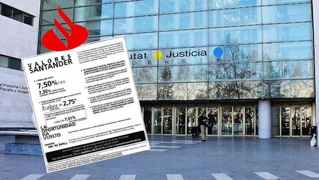 Juzgado Valencia anula compra y posterior conversión en acciones de «Valores Santander»